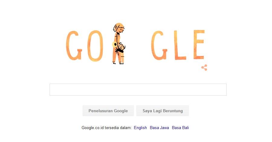Google Doodle Hari ini Memperingati Hari Ibu Nasional 22 Desember