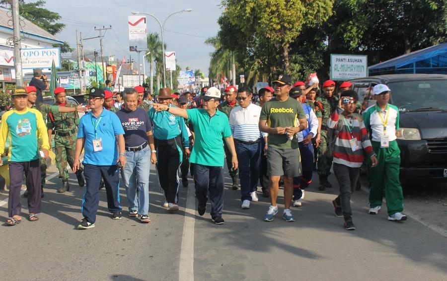 Jalan Santai Muswil PWM diLepas Wali Kota Palopo