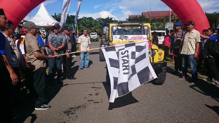 Ratusan Offroader dan Crosser Ramaikan Latimojong Adventure 2016