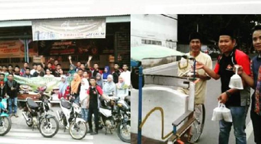 Komunitas Suzuki Satria F150 Berbagi Takjil dan Santunan Duafa
