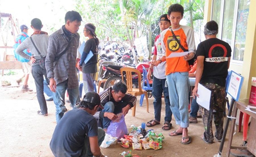 Balai TN Babul Uji Coba Penerapan SOP Tata Tertib Pendakian Gunung Bulusaraung