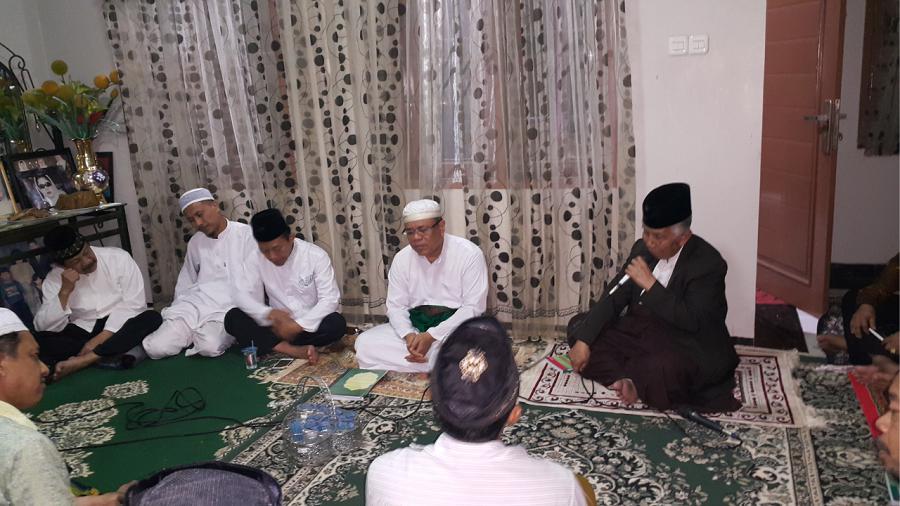 Lailatul Ijtima, NU Sulsel Yasinan Atas Wafatnya KH Amin Harun