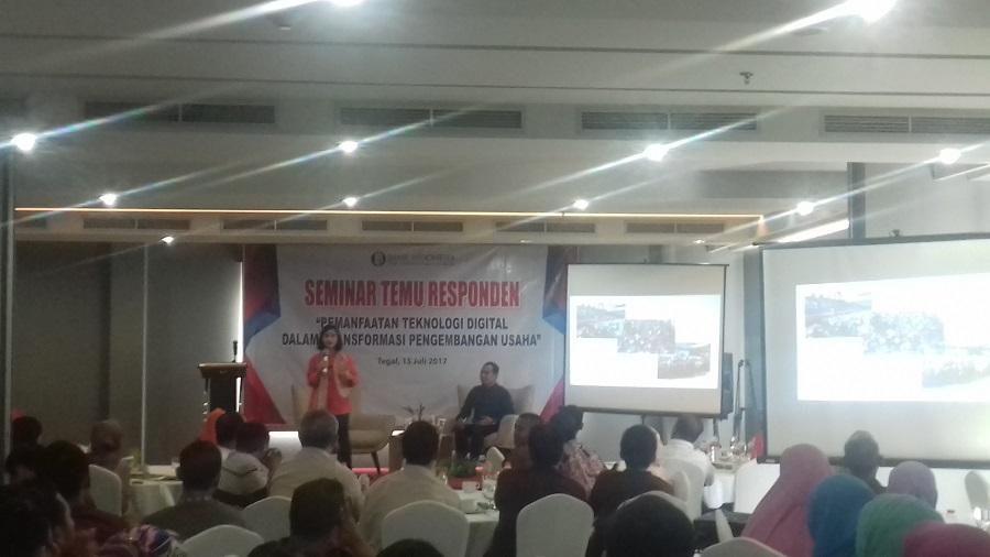Bank Indonesia Tegal Adakan Seminar Temu Responden