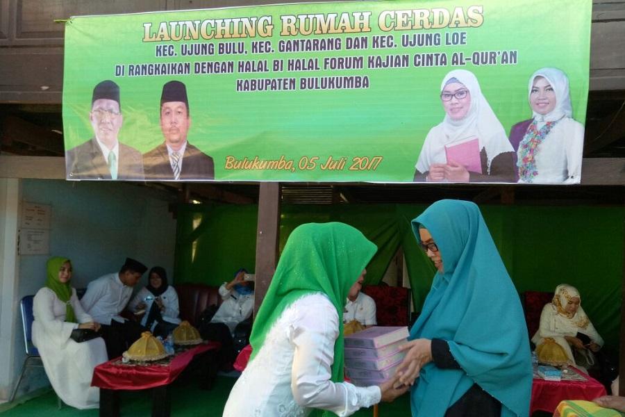 Halal Bihalal, FKCA Bulukumba, Majdah Agus,