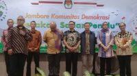 Tiga Utusan KPU Banten Ikut Jambore Komunitas Demokrasi