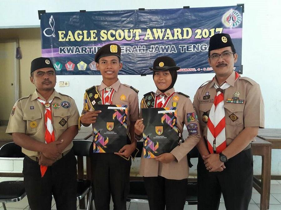 Pramuka Penegak Tegal Juara 1 Eagle Scout Award Jateng