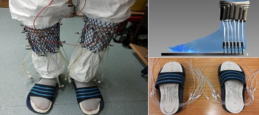 Teknologi Terbaru Kaus kaki Mampu mengubah urine jadi Energi