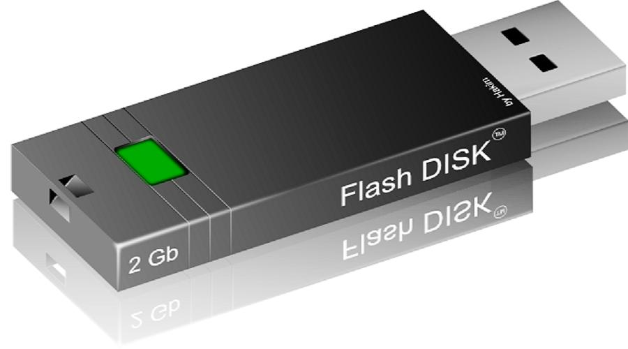 Jangan Buang Flash Disk Bekas Anda