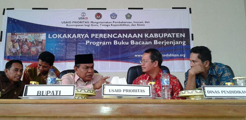 13 Kabupaten/Kota Sulawesi Selatan Luncurkan Program Buku Bacaan Berjenjang