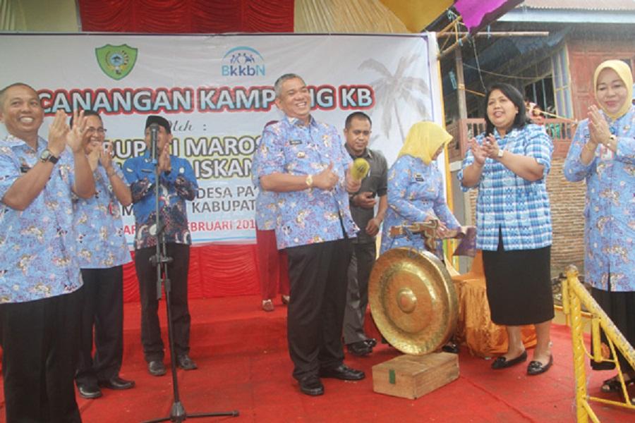 Penjabat Bupati Canangkan Kampung KB