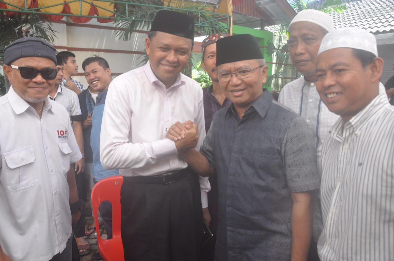 Pilgub Sulsel 2018: Agus Arifin Nu'mang dan Nurdin Abdullah Tunjukkan Signal Positif