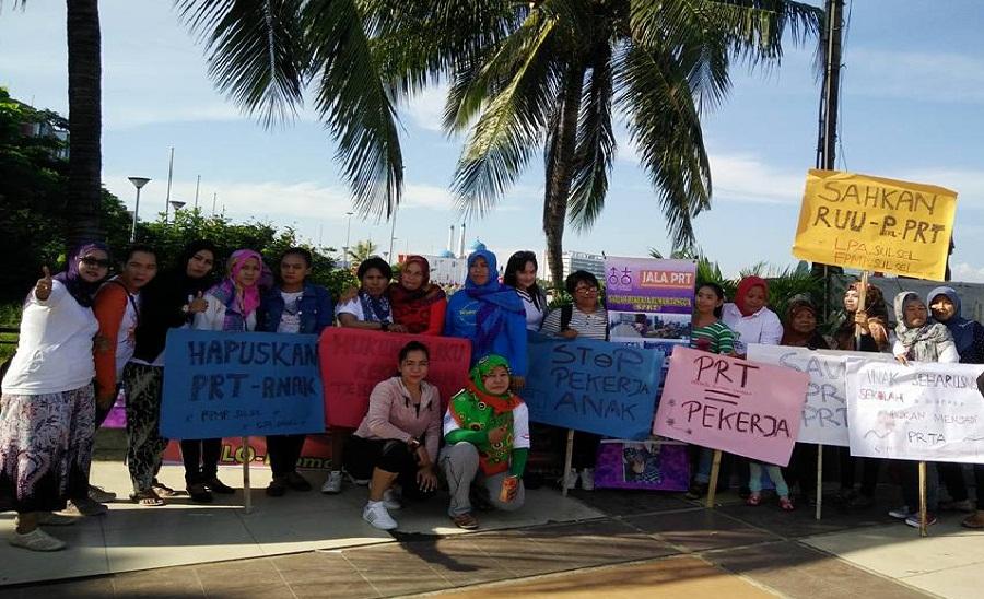 LPA dan FPMP Gelar Kampanye di kegiatan CFD Losari Makassar