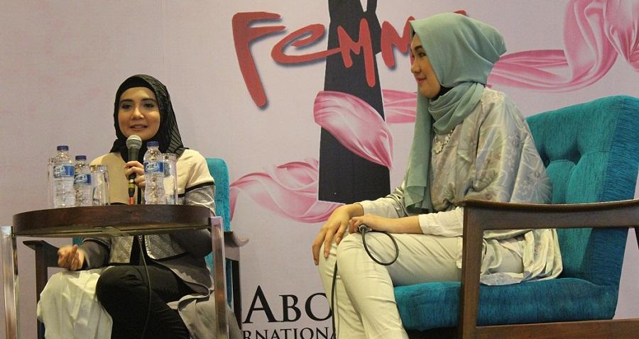 Zaskia Sungkar Ngobrol Soal Kecantikan di Hari Kedua Famme dan Celebes Beauty Fashion Week