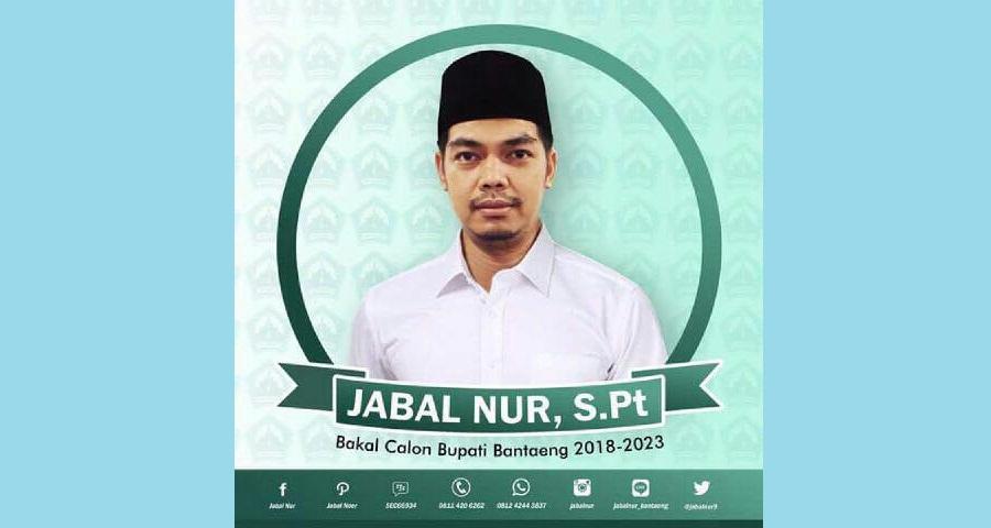 Pilkada Bantaeng 2018: Jabal Nur Bulatkan tekad dan niat untuk Maju
