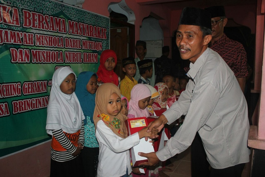 Desa Bringinan Launching Kampanye Sadar Menabung