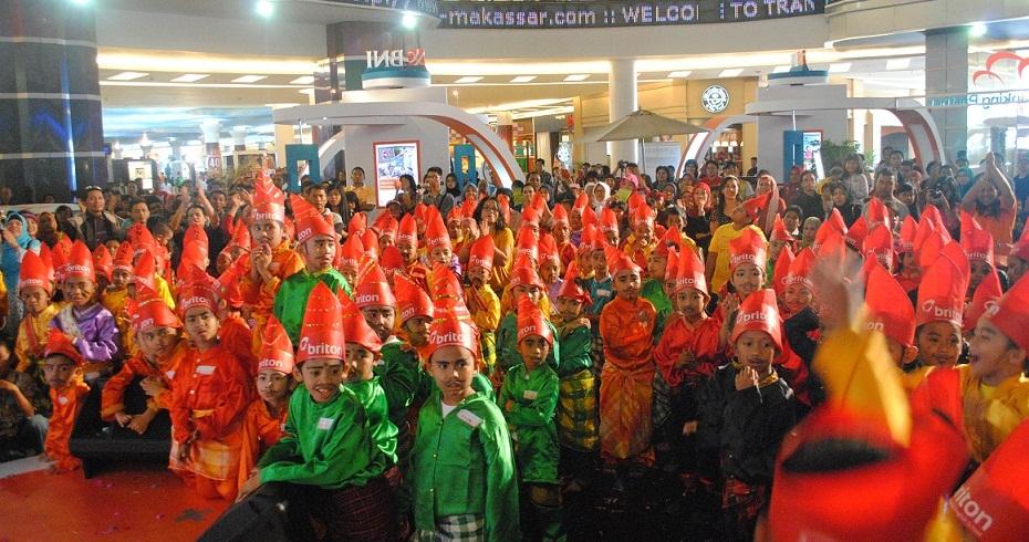 1000 Siswa SD Se Kota Makassar Akan Meriahkan Festifal Gandrang Bulo Briton 2016