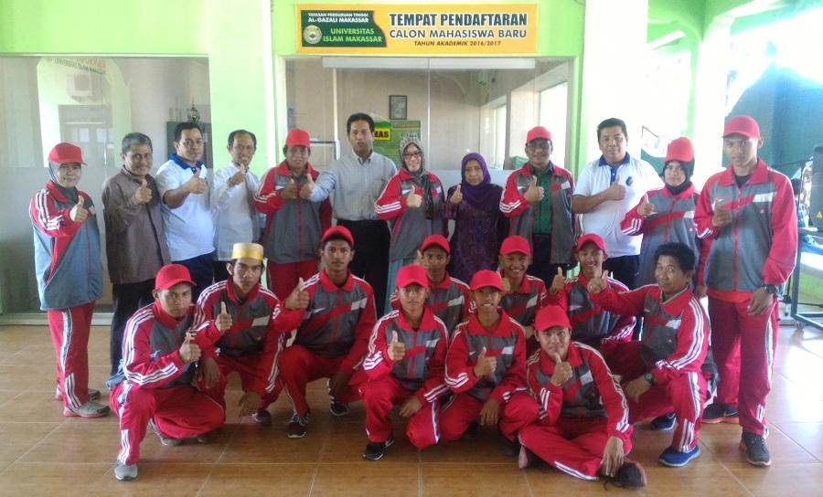 Majdah Agus Lepas Kontingen Pagar Nusa Sulsel