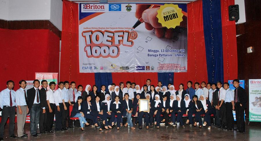 BRITON dan Beberapa Universitas di Makassar Bekerjasama Melaksanakan TOEFL AKBAR 2016