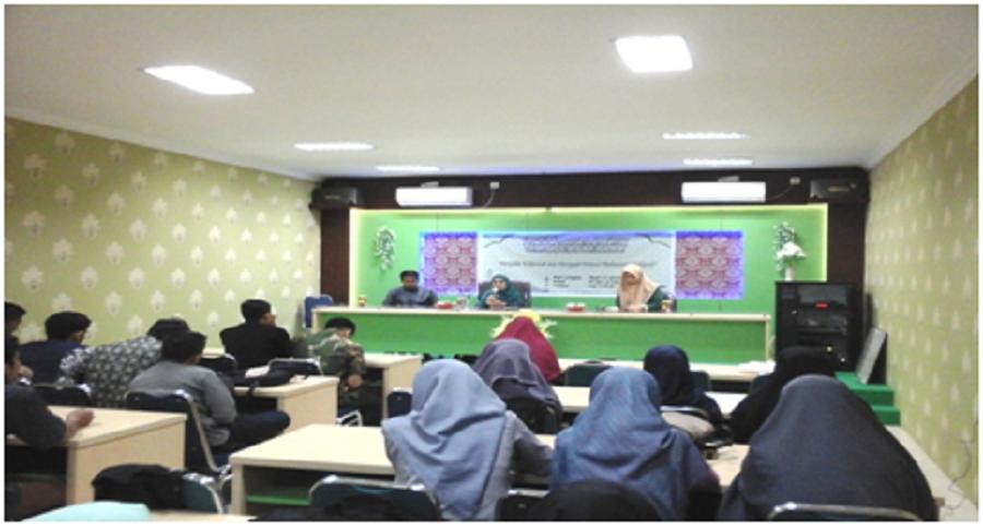 Suasana Forum Silaturahmi Mahasiswa Dakwah Prodi KPI FAI UMI