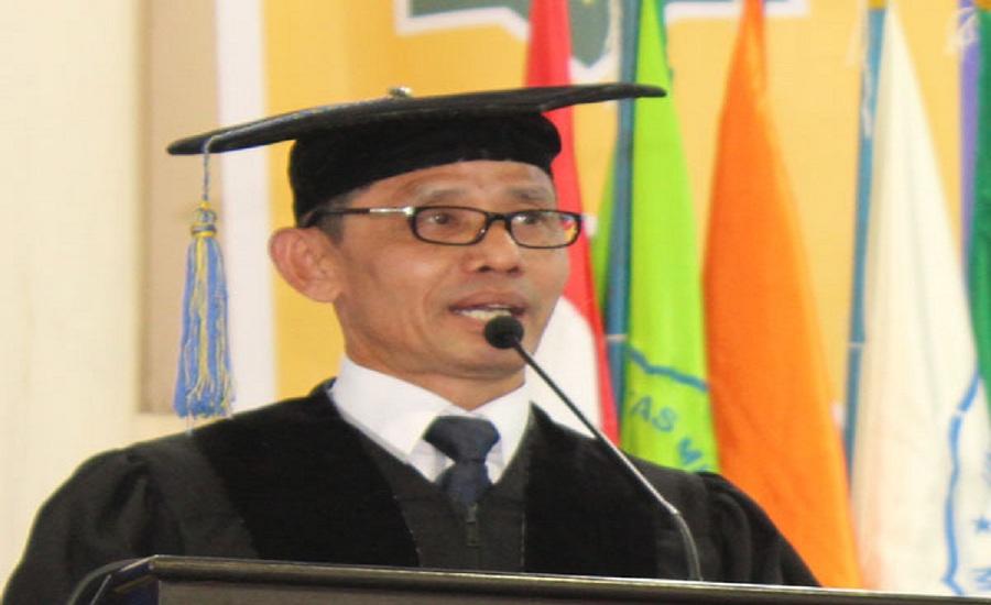 Dua Rektor dan Belasan Profesor Hadiri Pengukuhan Guru Besar Irwan Akib