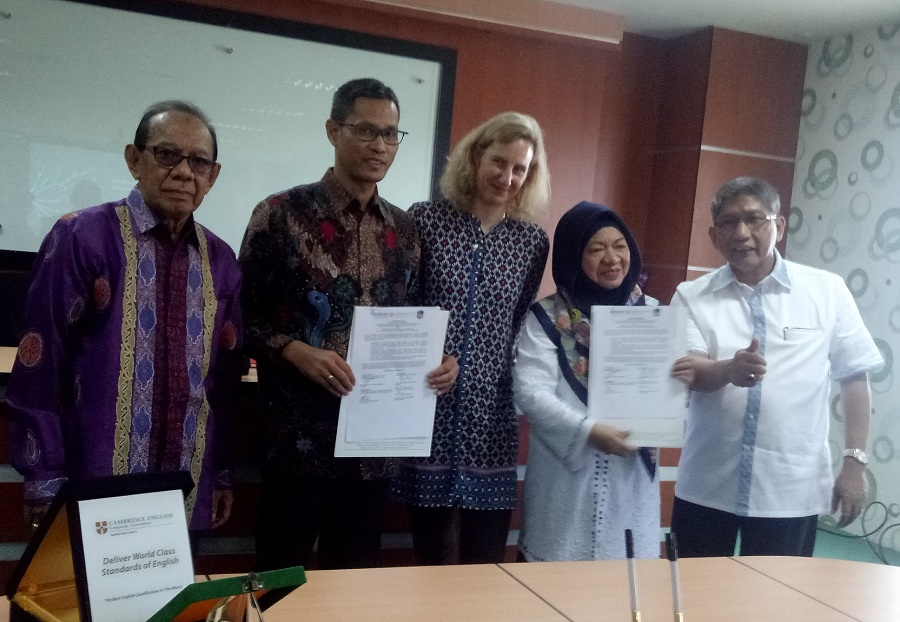 Kembangkan SDM Kota Dunia, UMI Gandeng Briton International English School