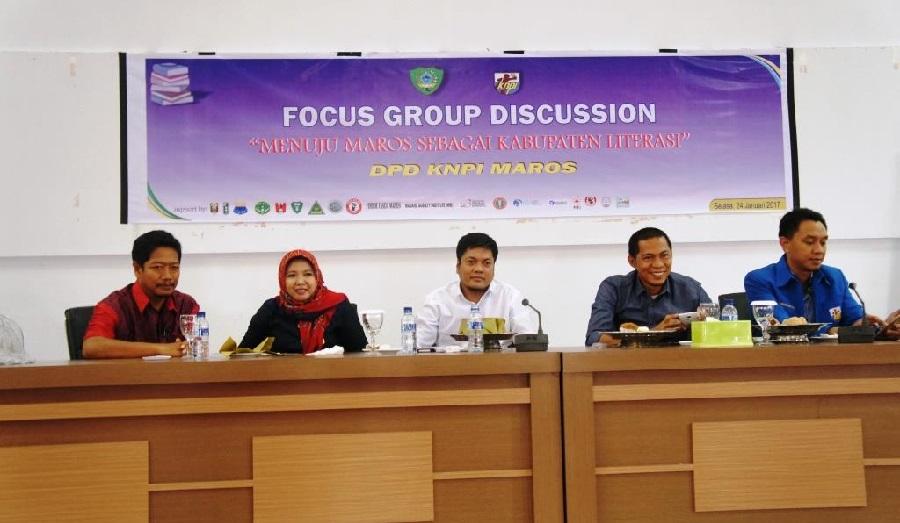 Maros Menuju Kabupaten Literasi