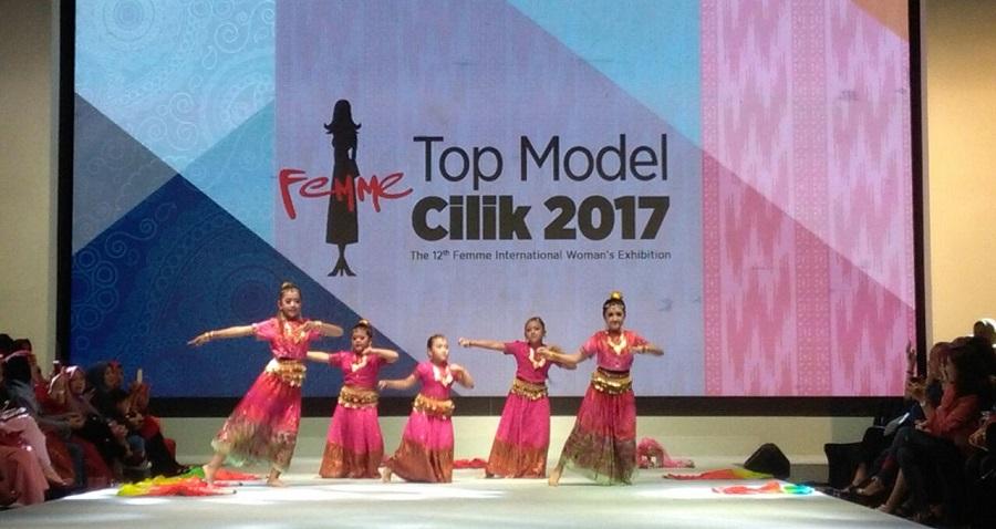 Dokumentasi kegiatan Top Model Cilik FEMME 2017