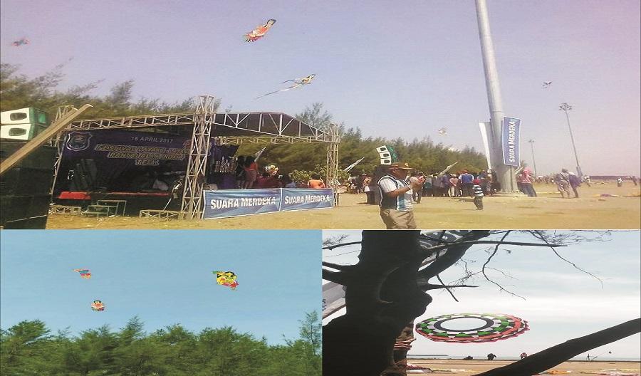Fantastik, Festival Layang-Layang Kembali Di Adakan di Kota Tegal