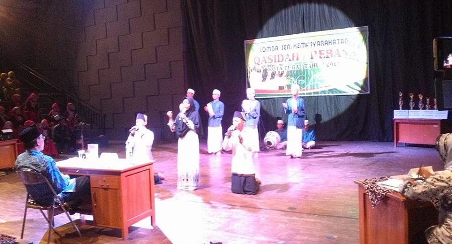 Seru, Lomba Qasidah Rebana Menyambut Hari Jadi Kota Tegal ke 337