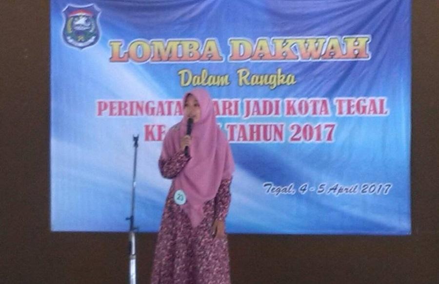 Lomba Dakwah Wanita dalam rangka menyambut hari jadi Kota Tegal ke 437