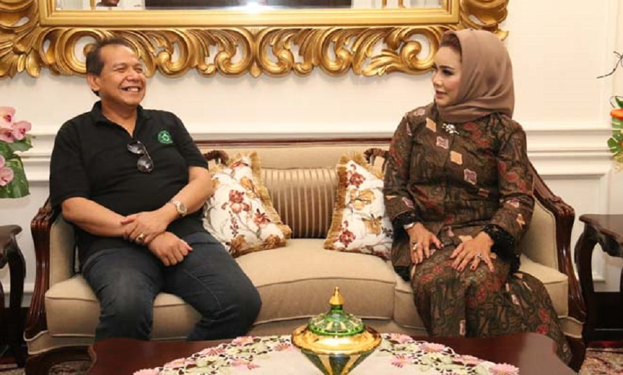 Wow, Bos Besar Trans Corp Chairul Tanjung Menyambangi Wali Kota Tegal