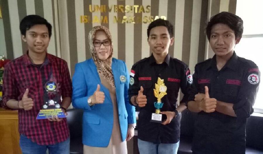 Rektor Universitas Islam Makassar Apresiasi Mahasiswa Fakultas Teknik