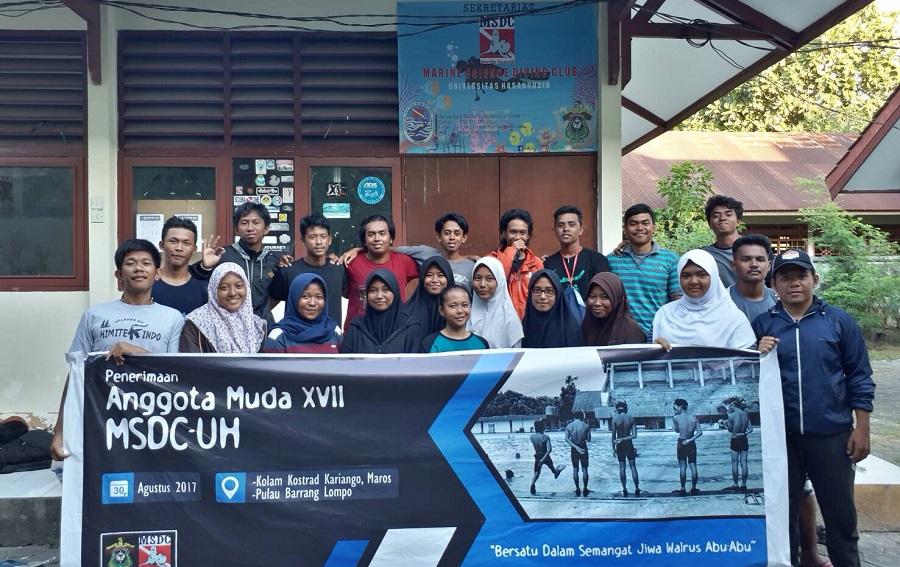 MSDC Unhas Kukuhkan 21 Anggota Muda