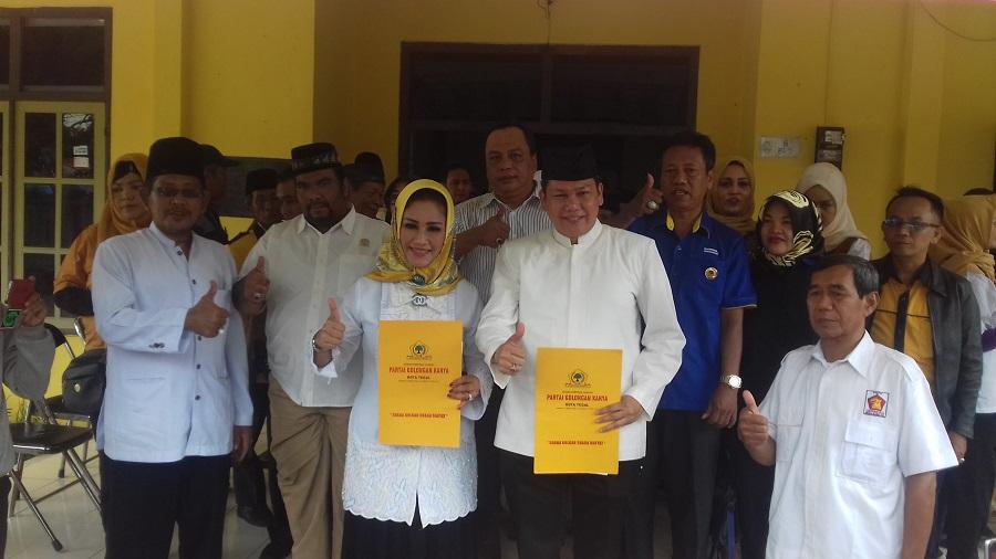 Walikota Tegal dan H. Amir Mirza Maju Pilkada 2018