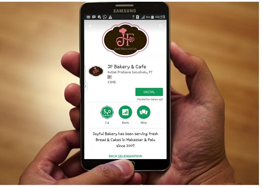 Oyful Bakery Hadirkan Aplikasi JF Bakery dan Cafe
