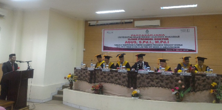 Dosen UIM Raih Gelar Doktor Pendidikan Islam di UIN Alauddin