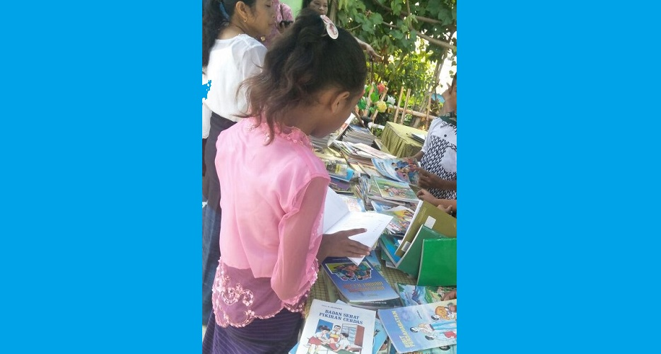 Gerakan Membaca untuk Semua Warga Sekolah