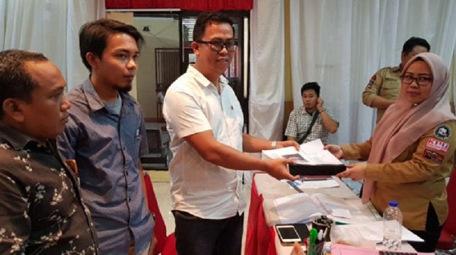 Daftar DPD, Rudihartono Serahkan 3000 Lebih KTP
