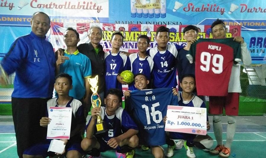 Alumni SMA Pancasakti Gelar Turnamen Futsal Pelajar SMAPAS CUP
