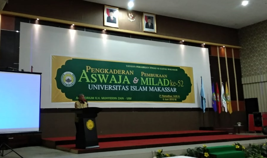 Milad 52 Universitas Islam Makassar