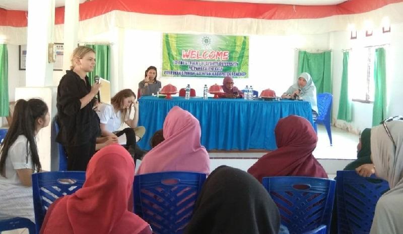 Mahasiswa Sydney kunjungi Balai Sakinah Aisyiyah Pangkep