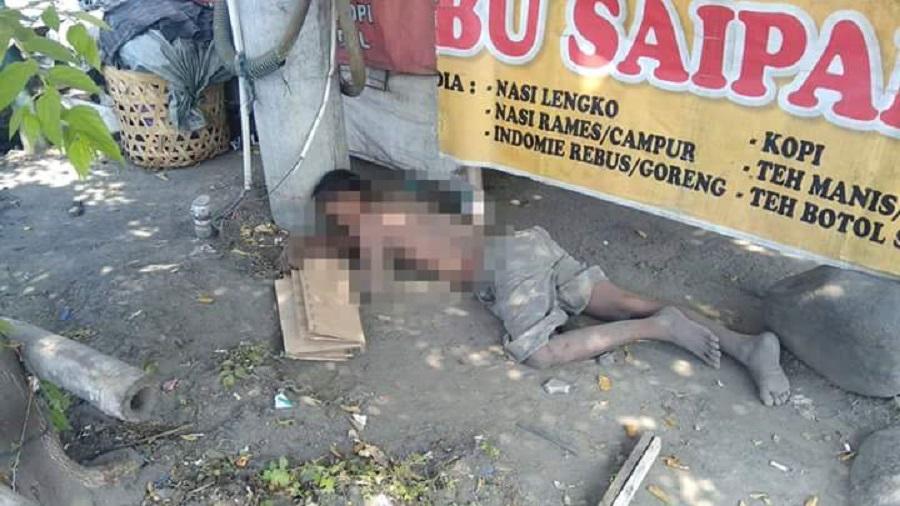 Seorang Pria di Pekalongan Tewas Tergeletak di Depan Warung Makan