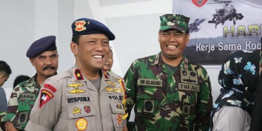 Wakapolda Sulsel dampingi Pangdam
