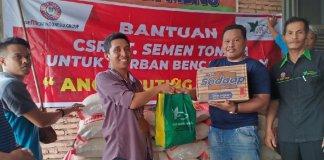 CSR Semen Tonasa Salurkan Bantuan