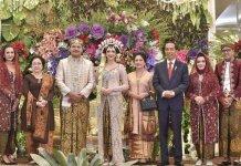 Presiden RI Hadiri Resepsi Pernikahan Putra Gubernur Sulsel