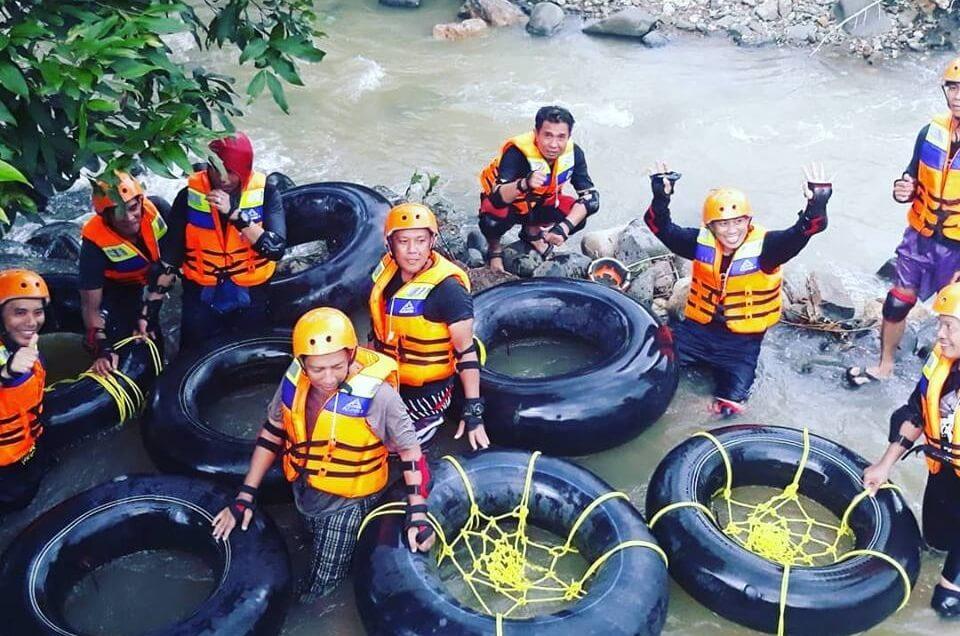 River Tubing Dewi Tagari, Pangkep