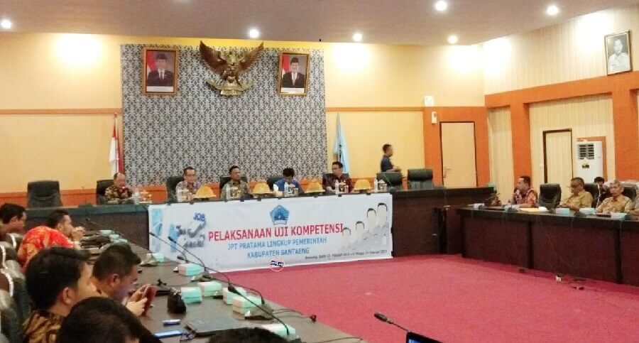 Pemkab Bantaeng Uji Kompetensi 16 Pejabat Eselon II