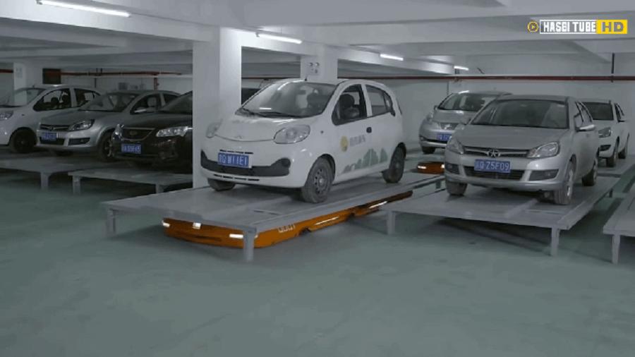 Hikvision Parking Robot