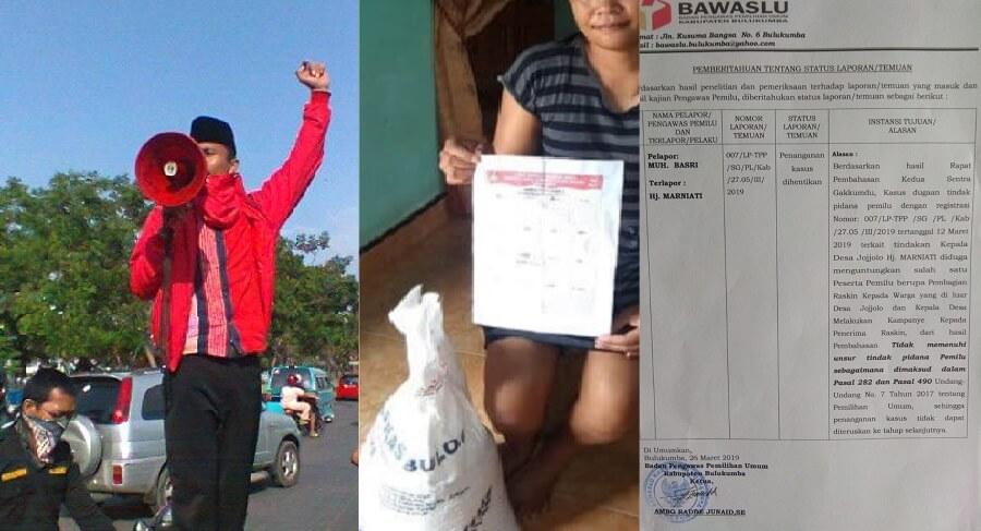 Basri Lampe Akan Demo Bawaslu Bulukumba Jika tidak PK Putusan yang Dikeluarkan
