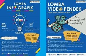 Lomba Infografik dan Video Pendek